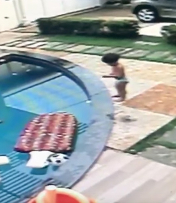 7-Year-Old Legend Saves His Little Brother From Drowning 👏👏👏