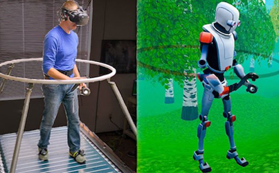 An Incredible Omnidirectional Treadmill Designed For VR