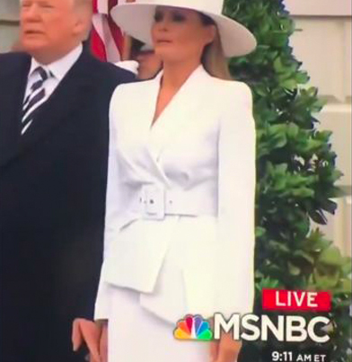 Donald Trump's Attempt To Hold Melania's Hand Is Sad 😭😭😭