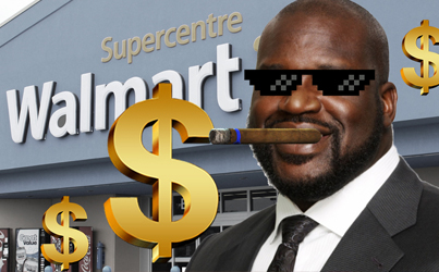 How Shaq Once Spent $70K In One Night At Walmart 😲😲😲