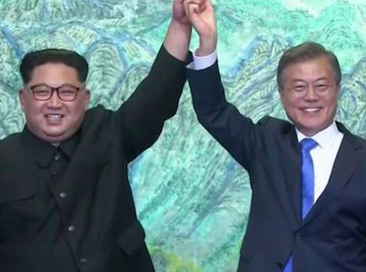 SMILES FROM KIM: NO MORE WAR 👍👍👍