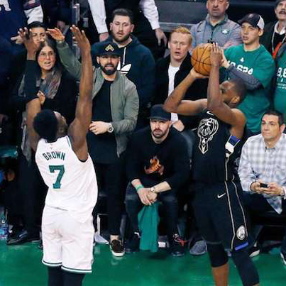 The Ending Of Celtics/Bucks Game 1 Was Nutty ASF 😱🏀🔥