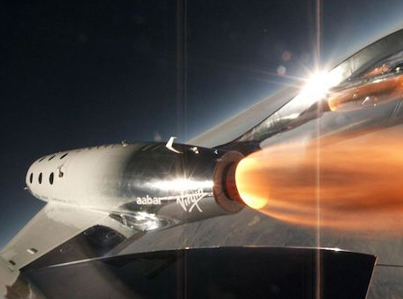 Virgin Galactic Spacecraft Performs The First Powered Flight Since Fatal 2014 Crash