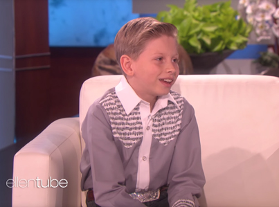 Walmart Yodeling Kid On 'The Ellen Show' 😩😂😂