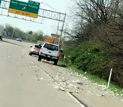 Free Money: Brinks Truck Drops $600K On Indiana Highway 💸💵💸