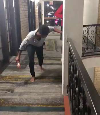 High School Track Stars Turns Their Hotel Into A Relay Race 🏃‍♂️🏃‍♀️💨🏨
