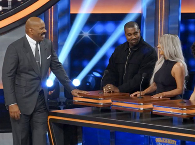 Kanye West And Kardashians Face Off In 'Family Feud' Teaser