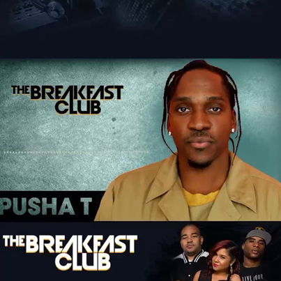 """Pusha T Discusses Drake Diss On """"The Breakfast Club"""" 😂🎯"""