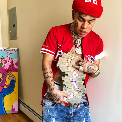 Tekashi69 Charged With Assaulting A Cop After A Traffic Violation 😳😳😳