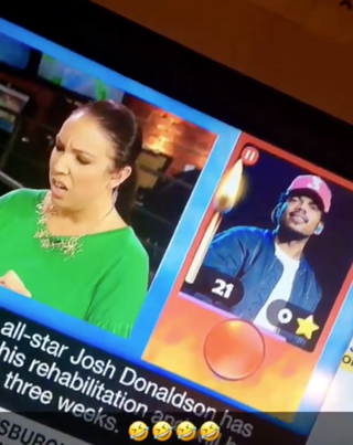 CP24 Ting Confuses Chance The Rapper For Wiz Khalifa 😂😂😂