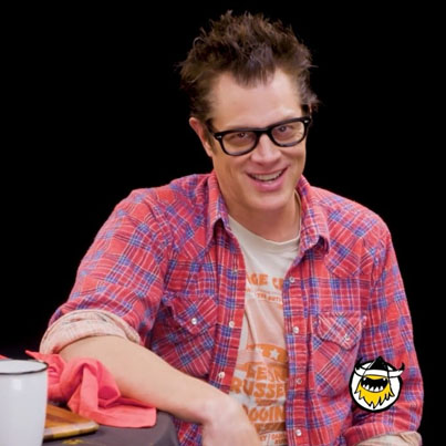 Johnny Knoxville Gets Smoked By Spicy Wings 🔥💀