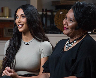 Kim Kardashian West And Freed Inmate Alice Johnson Meet For The First Time 👏👏👏