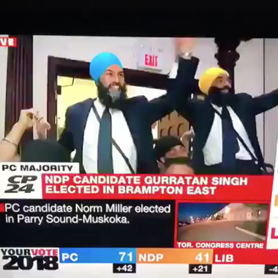 """NDP Candidates Dancing To """"God's Plan"""" 😂👌🇨🇦"""