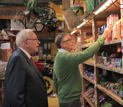 Two Of The Richest Men On Earth Get Nostalgic About Candy 🌰🍩🍡🍥🍬🍫🍭🍯