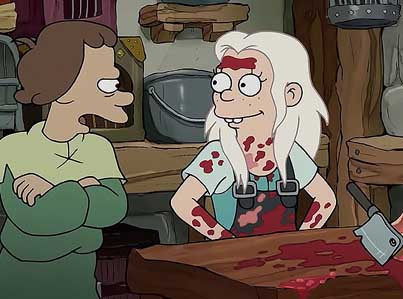 Matt Groening's New Animated Series: Disenchantment (Official Netflix Trailer)