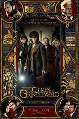 Fantastic Beasts: The Crimes Of Grindelwald (Official Movie Trailer)