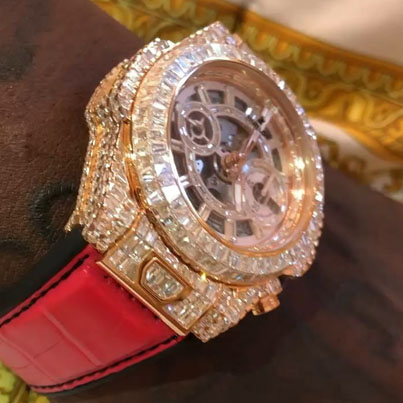 Gucci Mane Drops Another Million Dollars On A New Hublot Watch 💨🏅❄️