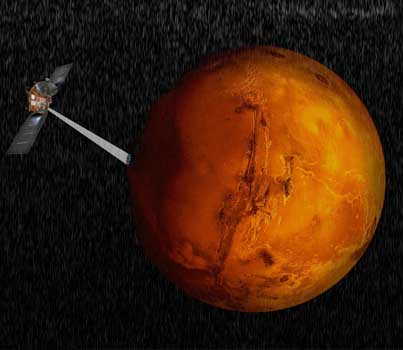 Italian Scientists Find Evidence Of Liquid Water Beneath Mars Southern Pole ✨👽🌊
