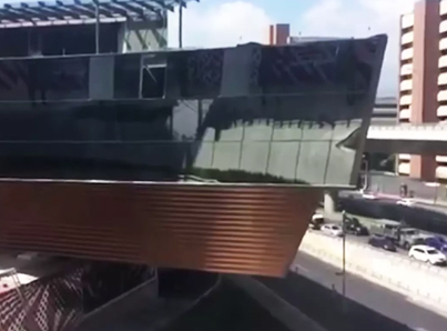 Newly Built Luxury Mall In Mexico City Shatters & Collapses 😭😭😭