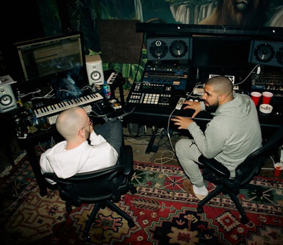 """Noah """"40"""" Shebib Gives A Behind-The-Scenes Tour Of OVO Studios 🐐🦂"""