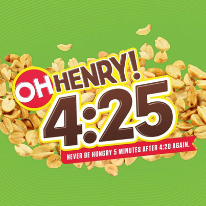 Oh Henry! To Release Chocolate Bar Aimed At Pot Smokers 😵🍫