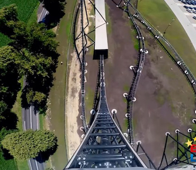 The Tallest And Fastest Roller Coaster In Europe 😱😱😱