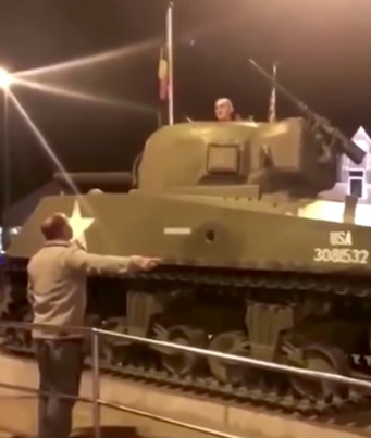 Waste Yute Refuses To Get Out Of A Tank 😂😂😂