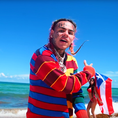 BEBE by 6ix9ine x Anuel AA (Prod. by Ronny J) (Official Music Video)