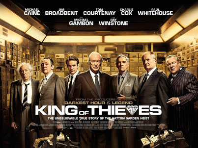 King Of Thieves (Starring Michael Caine) (Official Movie Trailer)