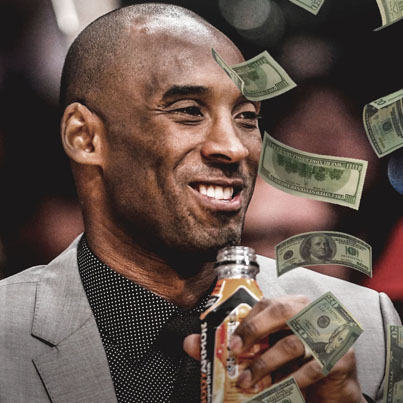 Kobe Bryant's $6M Investment In Body Armor Is Now Worth $200M ✌👍👏