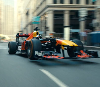 Legendary Racer Takes Red Bull Formula 1 Car For A Road Trip Across United States 😲🍌