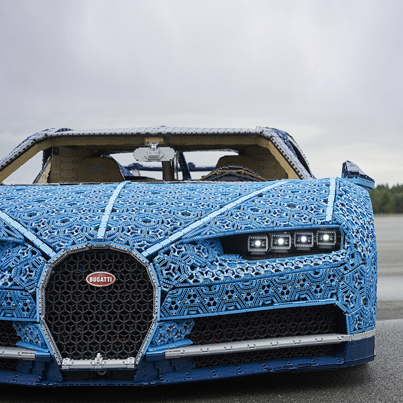 Lego Builds A Drivable Bugatti Chiron With Over 1 Million Pieces 😱💣🔥