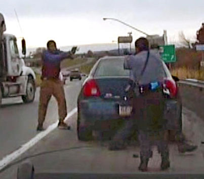 Man Has A Wild Shootout With Highway Patrol & Gets Away 💀
