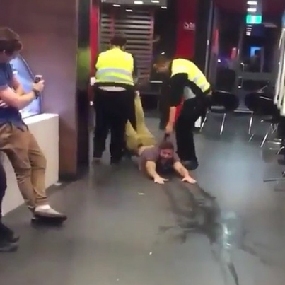 McDonald's Past Midnight In Toronto Is The Most Fucked Up Scene 😂😂😂