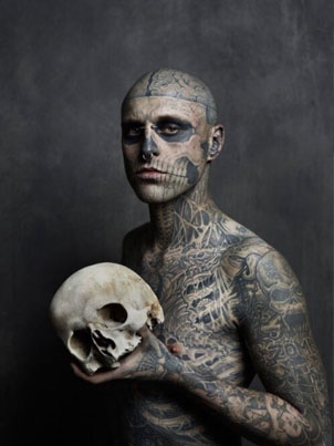 RIP: Montreal Model And Artist Known As Zombie Boy Dead At 32 💀🌹