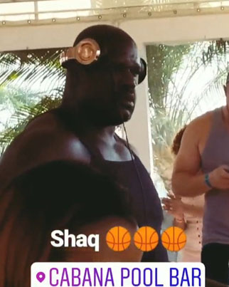 Shaq Hits Up The DJ Booth At Cabana During Caribana Weekend 👀😂🔥
