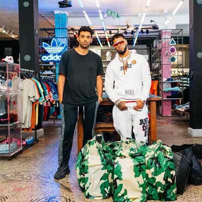 With Latin Trap Star Anuel AA