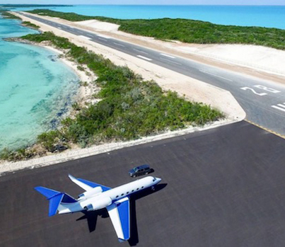 The Largest Private Island In The Bahamas Is Up For Sale At $120M With Private Jet Airstrip
