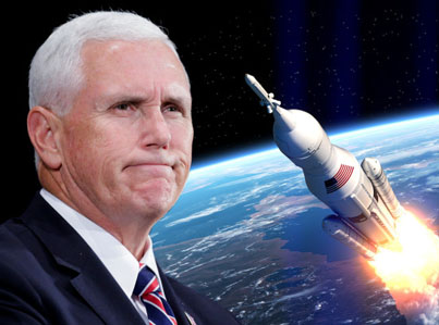 Vice President Mike Pence Unveils Plan To Create A Space Force By 2020 👽🚀