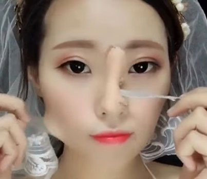 Women In China Are Exposing Their Make-Up Transformation Skills 😷😷😷