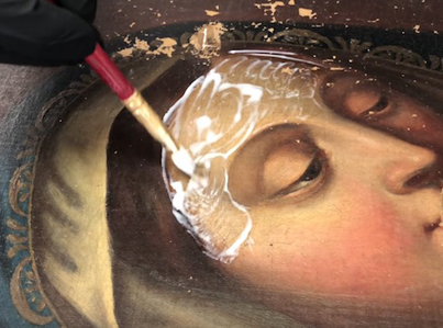 150-Year-Old Painting Of Mother Mary Gets Restored To Its Natural Beauty 👏👏👏