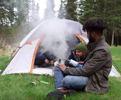 How To Hotbox A Tent With An Air Mattress Pump 💨💨🔥