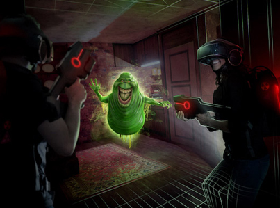 The Future Of Virtual Reality: Madame Tussauds 'Ghostbusters Dimension' 👻