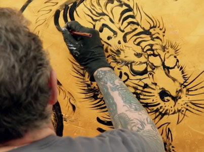 Meet Ed Hardy: The Godfather Of Modern Tattooing 🐅💉💀