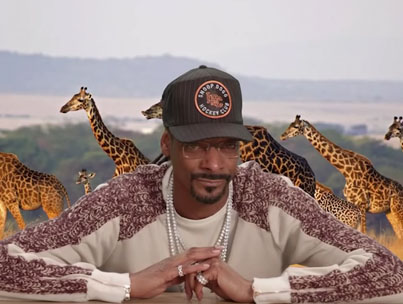 Snoop Dogg Narrates A Beef Ting Between A Bat & Scorpion On 'Jimmy Kimmel Live' 😂👌