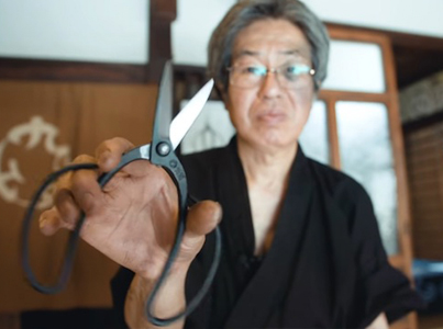 The Only Traditional Scissor Maker Left In Japan 🔥✂️🇯🇵