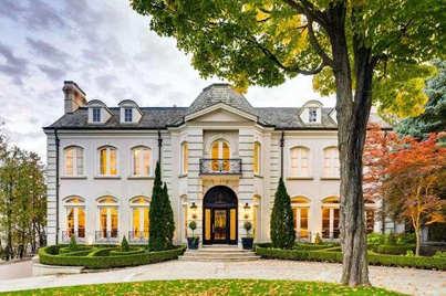 Inspirational Living At Its Finest: $13M Mansion In Toronto 💎🏠🔴👑