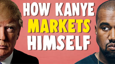 Court Attention At All Costs 🗣️🔥 How Kanye West Markets Himself 🔴👑