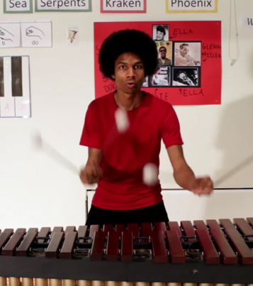 Man Plays The Super Mario Bros. Themes Song On A Marimba 🔥👏👏