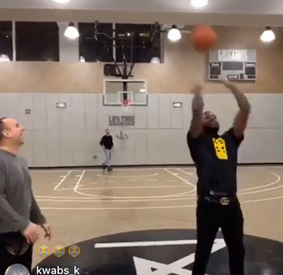 Meek Mill Wins $50k Trick Shot Bet With 76ers Owner 🏀😎💰